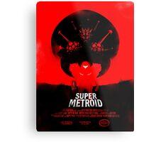 Super Metroid Metal Print
