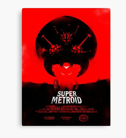 Super Metroid Canvas Print