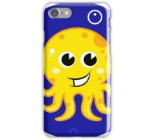 New in shop! Stylish mare octopus : blue and yellow iPhone Case/Skin