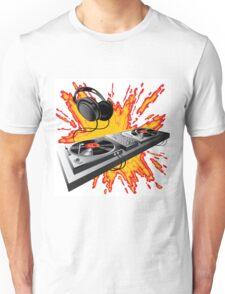 DJ control panel Unisex T-Shirt