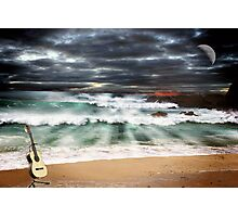 Music of the night Photographic Print
