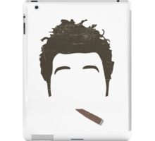 Cosmo Kramer Silo - Cigar - Seinfeld iPad Case/Skin