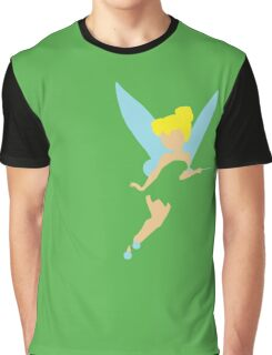 Tinker Bell Cut-Out Graphic T-Shirt