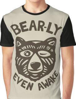 HI(BEAR)NATE Graphic T-Shirt