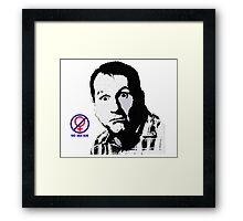 Al Bundy, No ma'am Classic, Married with Children no. 2 Framed Print