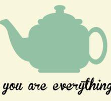 The Office Tea Pot  Sticker