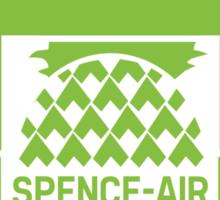 """Spence-Air"" Psych Radio Show w/ Shawn Spencer Sticker"