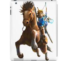 Link On Horse Dark iPad Case/Skin