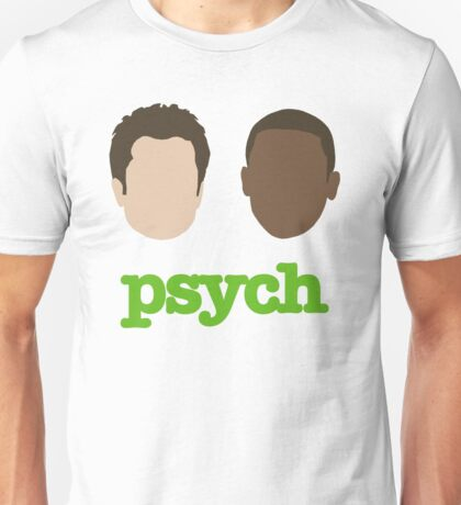 Faces of Psych Unisex T-Shirt