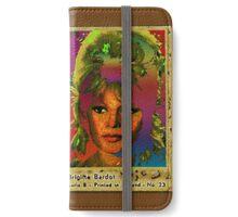 Brigitte Bardot iPhone Wallet/Case/Skin