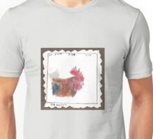 Le Coq Gaulois (French rooster) Unisex T-Shirt