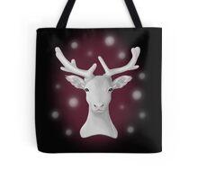 The Snowy Reindeer Tote Bag