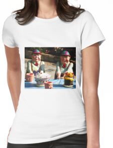 Tweedledum and Tweedledee Womens Fitted T-Shirt
