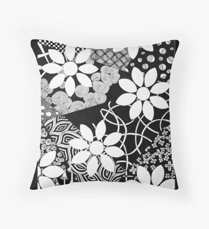 Shadow Garden Throw Pillow