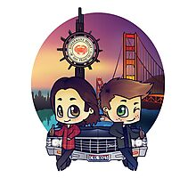 Winchesters in San Francisco Photographic Print