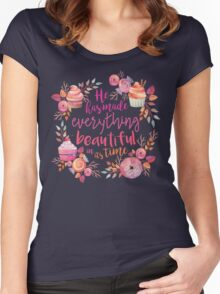 Bible Verse 1 Women's Fitted Scoop T-Shirt
