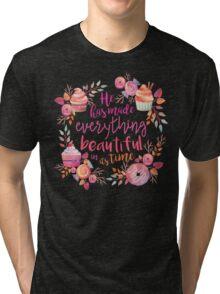Bible Verse 1 Tri-blend T-Shirt