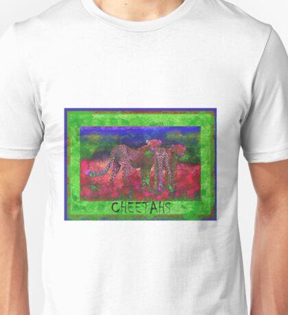 Colorful Cheetahs Unisex T-Shirt