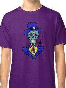 Pipe smoking Calavera Classic T-Shirt
