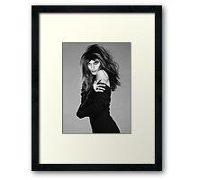 Freddie Mercury as a Model Framed Print