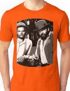 Terence Hill & Bud Spencer - Italian actors Unisex T-Shirt