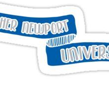 Christopher Newport University - Style 8 Sticker