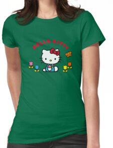 Hello Kitty Sweet Cartoon HK60 Womens Fitted T-Shirt