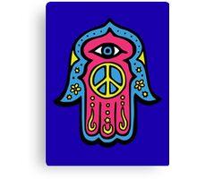 Peace Khamsah Canvas Print