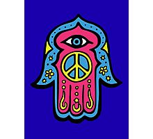 Peace Khamsah Photographic Print