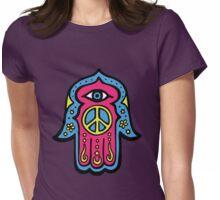 Peace Khamsah Womens Fitted T-Shirt