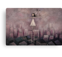 Escaping the rat race Canvas Print
