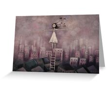 Escaping the rat race Greeting Card