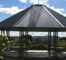 Rotunda - National Rose Garden - Tasmania Sticker