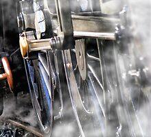 Steam Railway Wheels by closetpainter
