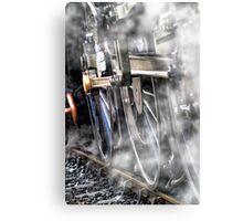 Steam Railway Wheels Canvas Print