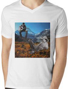 Cowboys Mens V-Neck T-Shirt