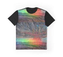 Rainbow Phoenix detail Graphic T-Shirt