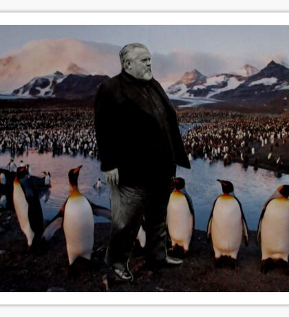 Orson and the Penguins Sticker