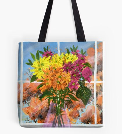 Burst of Autumn Tote Bag