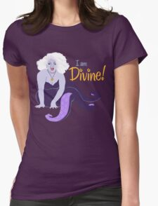 I Am Divine Womens Fitted T-Shirt