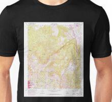 USGS TOPO Map California CA Temecula 300835 1968 24000 geo Unisex T-Shirt