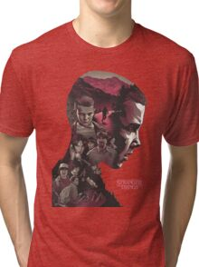 stranger things series Tri-blend T-Shirt