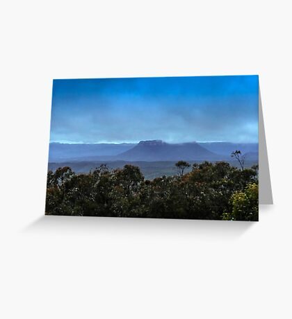 Early Morning over the Capertee Valley Greeting Card
