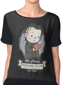 mr clares poetry club  Chiffon Top