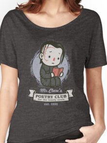 mr clares poetry club  Women's Relaxed Fit T-Shirt