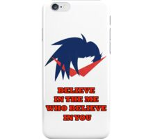 Kamina Phrase iPhone Case/Skin