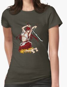Erza Scarlet Womens Fitted T-Shirt