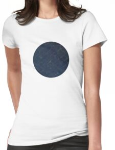 Planetary Zen Womens Fitted T-Shirt