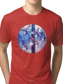 Crystal water drops on a branch Tri-blend T-Shirt