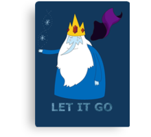 Let it go - Ice King Canvas Print